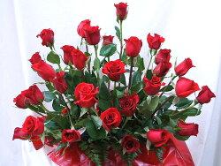 フラワーアレンジメント送料無料バラをプレゼント