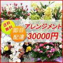 【花】フラワーコンシェルジュが厳選した花屋のお祝いアレンジメント花 30000円 【あす楽対応】【楽ギフ_メッセ入力】送料無料、即日…