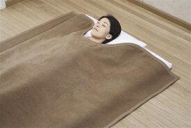 国産 キャメル毛布