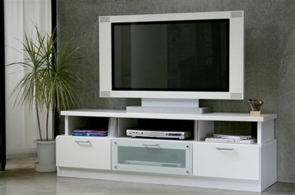クレール 150 TVボード ホワイト 開梱設置付