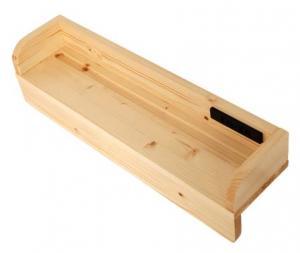 タイプが選べる頑丈ロータイプ収納式3段ベッド fericica フェリチカ 専用別売品 60cm棚