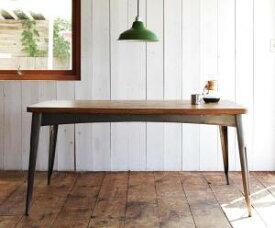 西海岸ヴィンテージデザインダイニング家具シリーズ Ricordo リコルド ダイニングテーブル W150