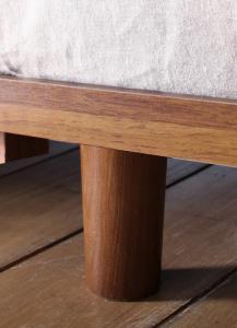デザインボードベッド Bibury ビブリー 専用別売品(脚) 木脚タイプ 脚5cm