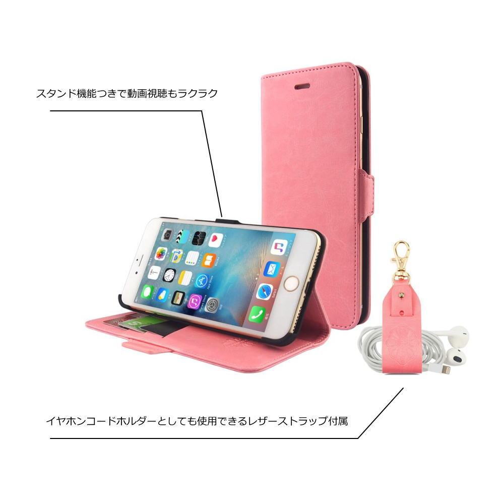 iPhone8 / iPhone8Plus / iPhone7 / iPhone7Plus 手帳型ケース 高級感 8カラー展開 おしゃれ 多機能 お財布 リーズナブル 高級感 落下防止 かっこいい 色合い しっかり 丈夫 ストラップ ブランド HANATORA