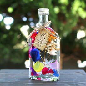 [ウイスキーグラス・Vivid ビビッド] 花うるるのハーバリウム新作 ギフト プレゼントに最適 プリザーブドフラワー ボトル (ホワイトデー お返し ギフト ドライフラワー インテリア雑貨 新築祝い 結婚祝い 誕生日 ギフト 内祝 内祝い