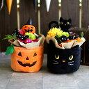 ハロウィン 飾り かわいいポットアレンジ 2種【HWMA007】ハロウィーン 飾り Halloween 北欧 子供部屋 雑貨 ギフト イ…
