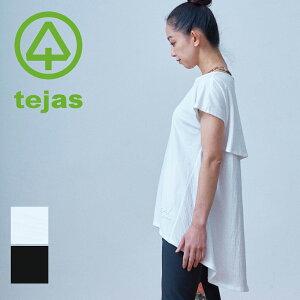 【テジャス Tejas】paksa-tunick【TL11158】パクシャ チュニック ヨガウェア ヨガ Tシャツ レディース ホットヨガ ラクチン フィットネス ピラティス スポーツウェア ウェア マタニティウェア 【2021