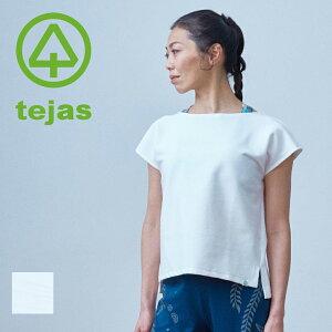【テジャス Tejas】indrani-tops【TL11160】インドラーニートップス ヨガウェア ヨガ Tシャツ レディース ホットヨガ ラクチン フィットネス ピラティス スポーツウェア ウェア マタニティウェア