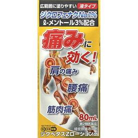 【第2類医薬品】【定形外郵便発送】ジクペタスZローションα 80ml