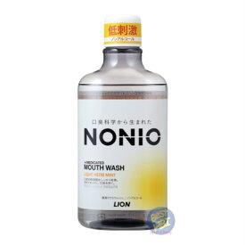 【医薬部外品】 NONIO マウスウォッシュ ノンアルコール ライトハーブミント 600mL(4903301259398)