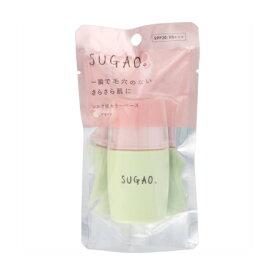 ロート製薬 SUGAO シルク感カラーベース 20mL グリーン【お取り寄せ】(4987241162444)