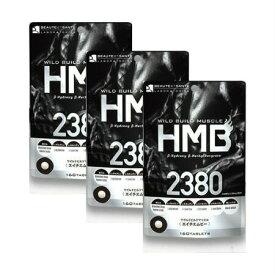 【送料無料】 ワイルドビルドマッスル HMB2380 160粒 【3個セット】【メール便】 (4560447831545-3)