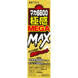 井藤漢方薬 マカ6600極感MEGA MAX 50mL(4987645497296)