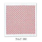 刺し子キット一目刺しの花ふきんりんごSK-357ネコポス可olmオリムパス