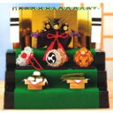 手芸キット クリスタル兜の三段飾り CR-50 パナミ 取寄せ商品 手芸の山久
