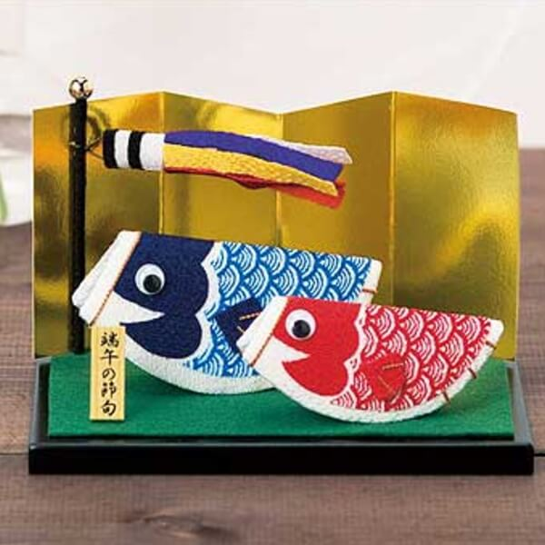 手作り キット こいのぼり 魔法の五月人形 ちりめんタイプ ちりめん細工 キット 鯉のぼり 手芸の山久