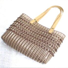 手作り キット バッグ クロス模様のトートバッグ 19-0121 バッグキット 元廣 手芸の山久