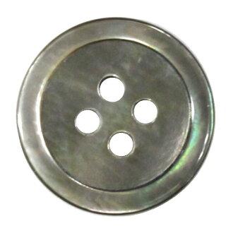 贝按钮4洞孔20mm黑蝴蝶外壳按钮猫Point Of Sales可的bel手工艺的山久