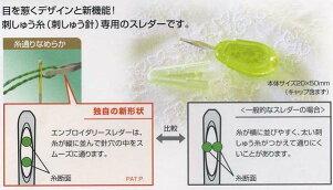 クロバーエンブロイダリースレダー刺しゅう用糸通し