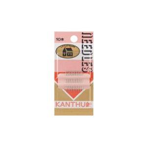 金亀 LH440054 LH KANTHU針 10本入×5個単位 リトルハウス パッチワーク キルト kkm ネコポス可 手芸の山久
