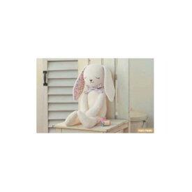 ハマナカ H434-024 やわらか手触りのウサギ ぬいぐるみ手芸キット オーガニックコットングッドナイト hama 手芸の山久