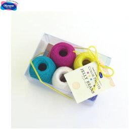 レース糸 セット エミーグランデ カラーパレット JELLY BEANS(ジェリービーンズ) レース糸 olm オリムパス 手芸の山久