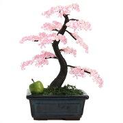 【山久オリジナル】ビーズ盆栽キット「桜」