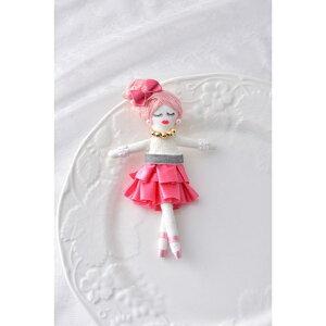 人形ドレスキット ピンク NB-10 ドレス オリジナルドール ドールチャーム パナミ 取寄せ商品 ネコポス可 手芸の山久