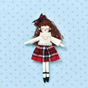 人形ドレスキット パート2 チェック NB-22 ドレス オリジナルドール ドールチャーム パナミ 取寄せ商品 ネコポス可 手芸の山久