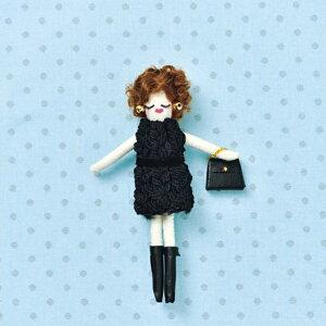人形ドレスキット パート2 ニット NB-23 ドレス オリジナルドール ドールチャーム パナミ 取寄せ商品 ネコポス可 手芸の山久