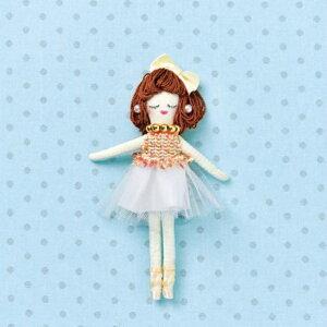 人形ドレスキット パート2 クリーム NB-24 ドレス オリジナルドール ドールチャーム パナミ 取寄せ商品 ネコポス可 手芸の山久