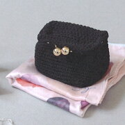 ハマナカ編みつける口金キットカチューシャのBOXがま口CRMM-585