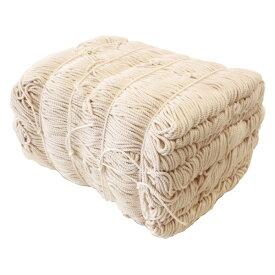 たこ糸 30号〜100号 約4.3kg 裂き織り 水糸 手芸の山久