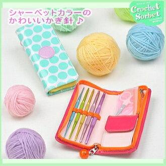 Tulip crochet hook set CROCHET SORBET (with case crochet sets)