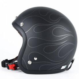 72JAM デザイナーズジェットヘルメット [JJ-16]STEALTH ステルス マットブラック [ガラスフレークブラックベースマット仕上げ]2サイズ メンズ レディース 兼用品 SG規格 全排気量対応