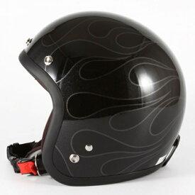 ジャムテックジャパン 72JAM WEB-07STEALTH ステルス ブラック 限定カラー ジェットヘルメット [ガラスフレークブラックベースグロス仕上げ]FREEサイズ(57-60cm未満) メンズ レディース 兼用品 SG規格 全排気量対応
