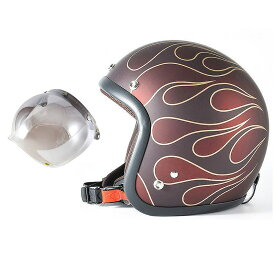 72JAM デザイナーズジェットヘルメット [JJ-22] 開閉シールド付き [JCBN-03]STEALTH ステルス レッド [ガラスフレークレッドベースマット仕上げ]2サイズ メンズ レディース 兼用品 SG規格 全排気量対応