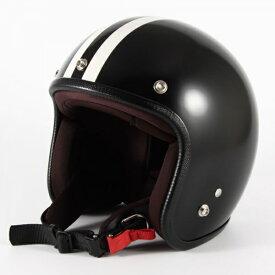 ジャムテックジャパン 72JAM JPBH-1JP MONO BLACK HAWK ジェットヘルメット [セミグロスブラックベース]FREEサイズ(57-60cm未満) メンズ レディース 兼用品 SG規格 全排気量対応