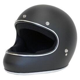 ドラッグスタイル フルフェイス ヘルメット AKIRA アキラ [マットブラック/2サイズ]DAMMTRAX ダムトラックス メンズ レディース 兼用品 SG規格 全排気量対応 バイク用