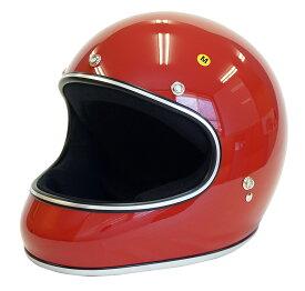 ドラッグスタイル フルフェイス ヘルメット AKIRA アキラ [レッド/2サイズ]DAMMTRAX ダムトラックス メンズ レディース 兼用品 SG規格 全排気量対応 バイク用