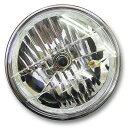 マルチリフレクターヘッドライト 180mm(180φ)(180パイ) メッキケース クリアレンズ 汎用品旧車 ゼファー400 ZRX400 X…