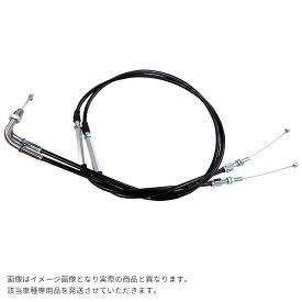 ハイスロキット用 アクセルワイヤー(引き・戻し) 2本セット BK