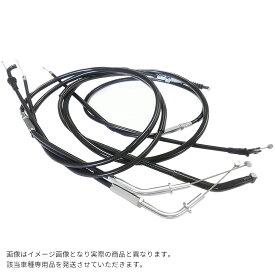 STEED400 (88-98 NC26)/STEED600 (88-96 PC21) スティード 純正タイプ ブラック ワイヤーセット (スロットル・クラッチ) STEED400 (88-98/NC26)/STEED600 (88-96/PC21)/スティード/ワイヤーセット/ハンドル交換/補修パーツ