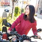 【旧モデルにつき在庫限り特価】 レディース バイク用 春夏 スタイルアップ メッシュジャケット 脱着式防風インナー + 肩、肘、脊椎、胸部プロテクター付属 Rosso StyleLab ロッソスタイルラボ ROJ-87 [4カラー/5サイズ]バイク 女性用 ジャケット 【D】