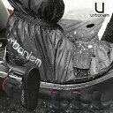 バイク用 防水 レイン ブーツカバー ソール付き メンズurbanism アーバニズム UNR-304 [3カラー/2サイズ]バイク オー…