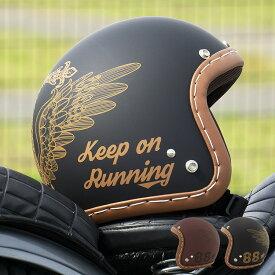 【新商品】スモールジェットヘルメット ハンドステッチ仕上げ NEO VINTAGE SERIES VT-11 AMERICAN VINTAGE KOR クロス [2カラー]FREEサイズ(57-60cm未満) メンズ レディース 兼用品 SG規格 全排気量対応 バイク用