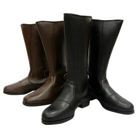高級牛革/国内生産の旧車乗りのためのブーツ! トーヨコ(東横)製 ビンテージロングブーツ メンズ・レディース兼用品 2カラー(黒/茶) [旧車][バイク][特攻ブーツ][ビンテージ][高級][本牛革][本革][本皮][日本製][ブーツイン]