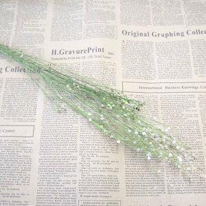 【リンフラワー・小分け】白 グリーン ドライフラワー ハーバリウム スワッグ アレンジ 花材 インテリアフラワー 大地農園
