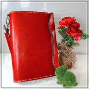 国産ブランド『栃木レザー』使用手縫いA5システム手帳リフィル付10点セットとミンクオイル付き