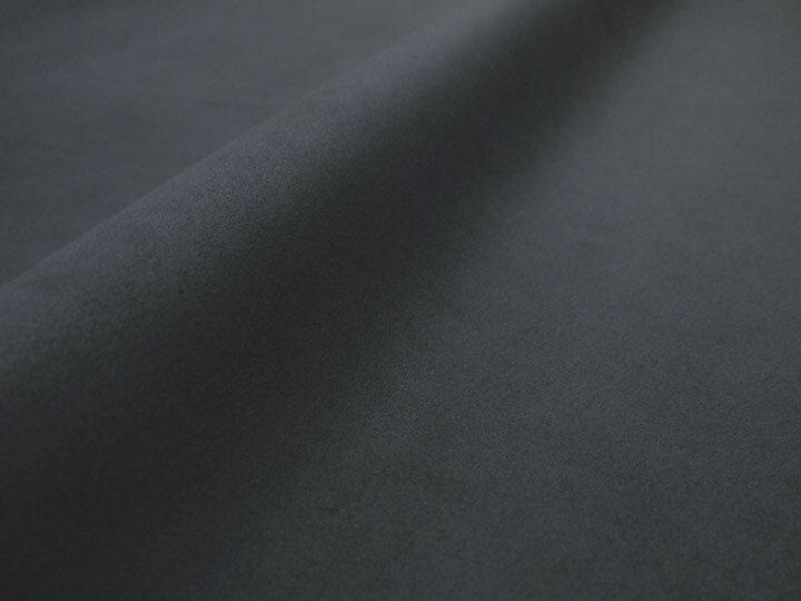 東レ エクセーヌ(アルカンターラ)人工皮革 スエード生地【黒〜ダークグレー】[ECS-BLACK]